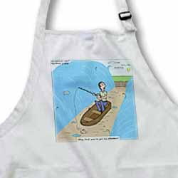 Fishing with God Apron