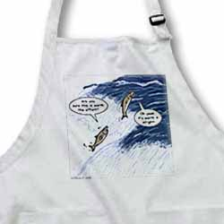 Salmon Spawning Advice Apron