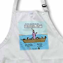 Mark 04-35-41 Dramamine Anybody - Calming of the Storm Apron