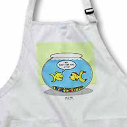 Fishbowl Pick-up Lines or 3 Second Memory Apron