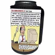 Ten Commandments 8 Dont Steal Can Cooler Bottle Wrap