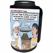 Ten Commandments, Origins Can Cooler Bottle Wrap