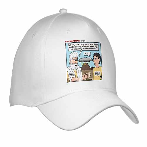 Ten Commandments, Origins Cap