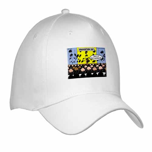 Graduation Day at the Hair Club for Men Cap