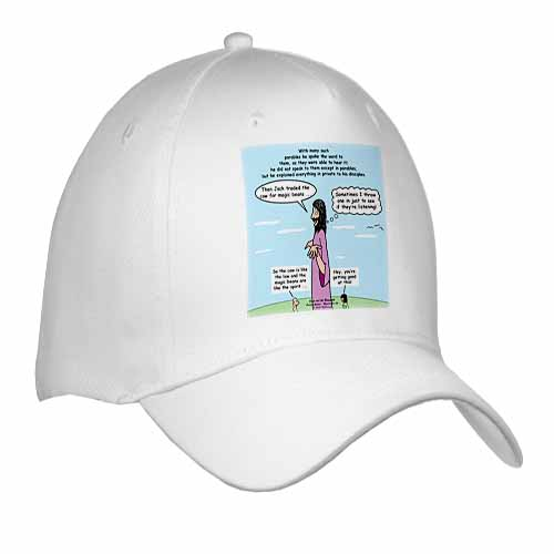 Mark 04-26-34 Jesus and the Beanstalk - Teaching Ad Lib Cap