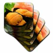 Sea Urchin Sushi Coaster