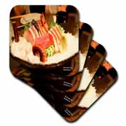 Octopus Shrimp and Fish Sushi Coaster
