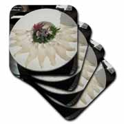 Fugu Puffer Fish Sashimi Sliced Coaster