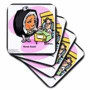 Pro Sushi Nurse Coaster