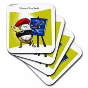Pro Vincent Van Sushi Artist Coaster