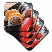 California Rolls n Tuna Sushi Coaster