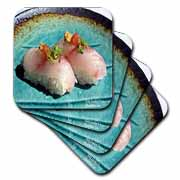 Scrumptious Pieces Of Sushi  Coaster