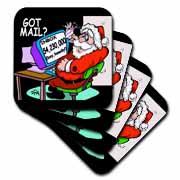 Ira Monroe about Santas E-Mail for Christmas Coaster