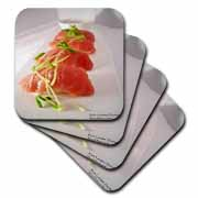 Tuna Sushi Plate Gifts and Collectibles  Coaster