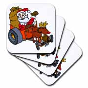 Nelson Deweys Reindeer Powered Santa Dragster Sleigh Coaster