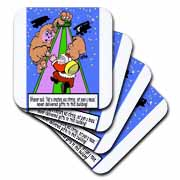 Ira Monroe - Santa Finds Some Buildings are Stirring More than a Mouse Coaster
