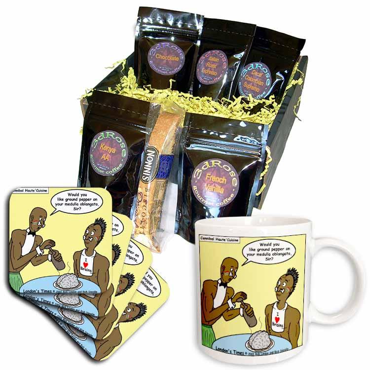 Cannibal Restaurant Coffee Gift Basket
