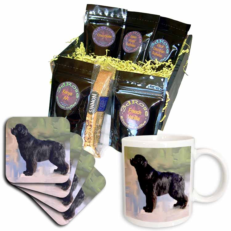 Briard Coffee Gift Basket