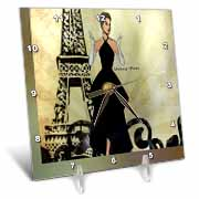 Vintage Paris Desk Clock