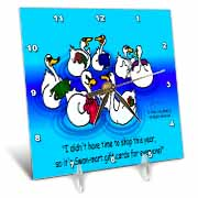 Larry Miller - Swan-Mart Gift Cards Desk Clock