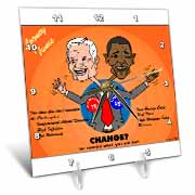 The problems with change ala Carter and Obama Desk Clock