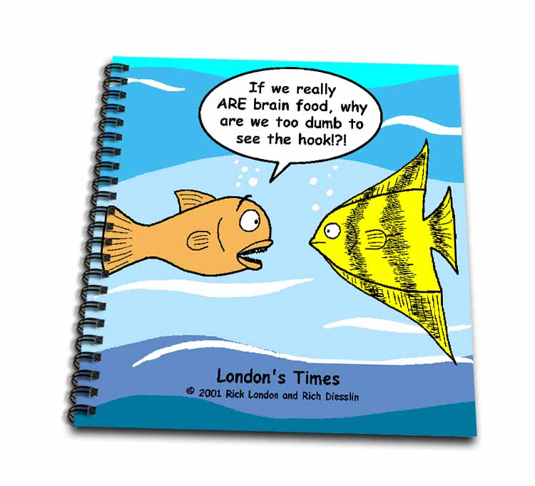 Are Fish Really Brain Food Drawing Book