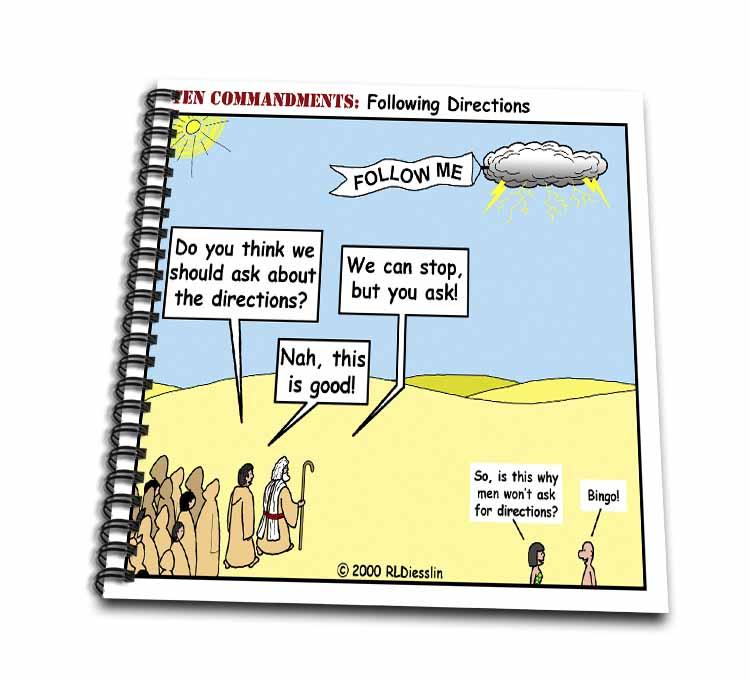 Ten Commandments, Following Directions Drawing Book
