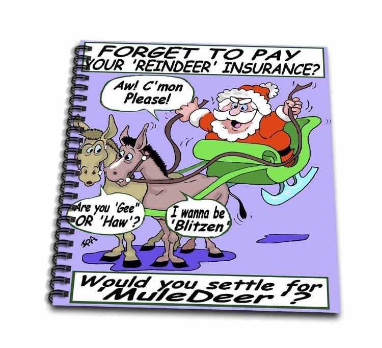 Ira Monroe - Santa and Mule Deer Drawing Book