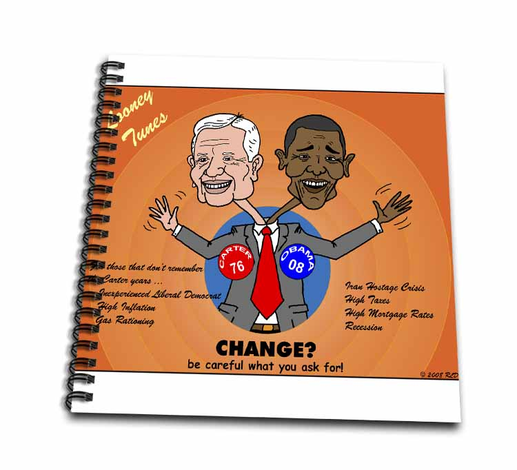 The problems with change ala Carter and Obama Drawing Book