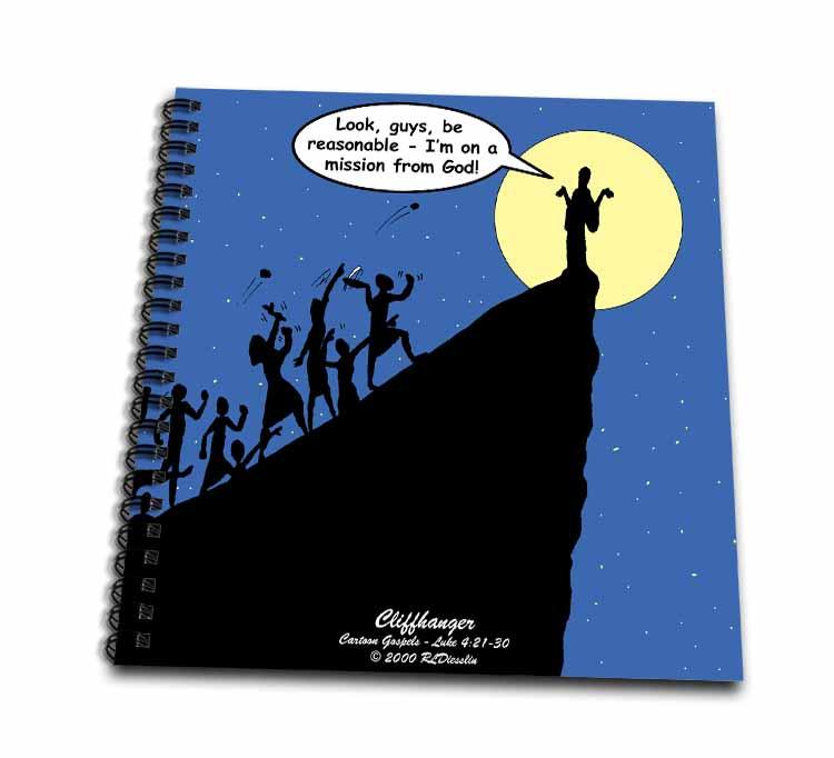 Luke 4-21-30 - A Cliffhanger Drawing Book