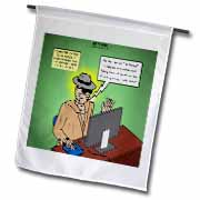 Invisible Man Internet Dating and Web Catfishing Flag