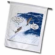Salmon Spawning Advice Flag