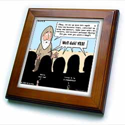 1st Samuel 8 1 22 What Could Go Wrong Bible kings people problems Framed Tile