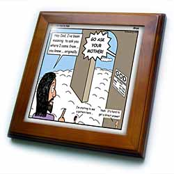 Arius - You Just Had to Ask Framed Tile