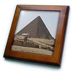 The Great Pyramids one Framed Tile