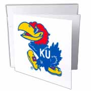 KU Jayhawk Greeting Card