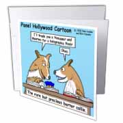 Barter Collies Greeting Card
