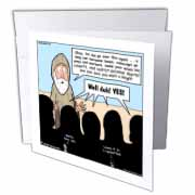 1st Samuel 8 1 22 What Could Go Wrong Bible kings people problems Greeting Card
