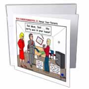 Ten Commandments 5 Honor Your Parents Greeting Card