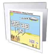 Ten Commandments, Following Directions Greeting Card