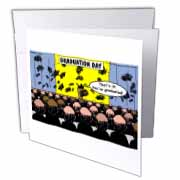 Graduation Day at the Hair Club for Men Greeting Card