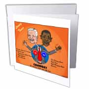 The problems with change ala Carter and Obama Greeting Card