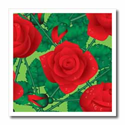 Red Roses Iron on Heat Transfer