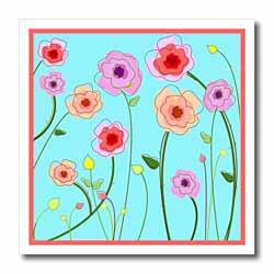 Spring Flowers Iron on Heat Transfer