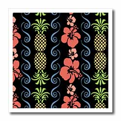 Hawaiian Floral Iron on Heat Transfer