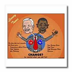 The problems with change ala Carter and Obama Iron on Heat Transfer