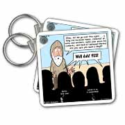 1st Samuel 8 1 22 What Could Go Wrong Bible kings people problems Key Chain