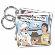 Ten Commandments, Origins Key Chain