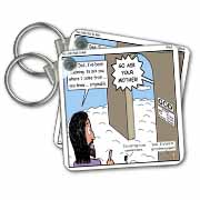 Arius - You Just Had to Ask Key Chain