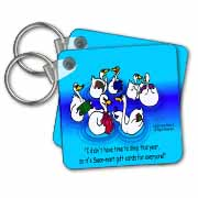 Larry Miller - Swan-Mart Gift Cards Key Chain